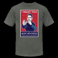 T-Shirts ~ Men's T-Shirt by American Apparel ~ Edward Snowden - Whistleblower