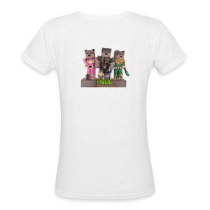 Women's V-Neck - Everyone Wants to be a GE3K - Women's V-Neck T-Shirt