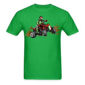 Mexican ATV Quad Rider - Men's T-Shirt