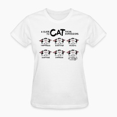 Cat facial expressions Women's T-Shirt