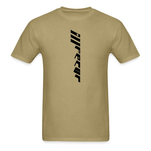 Men's double sided shirt (khaki) - Men's T-Shirt