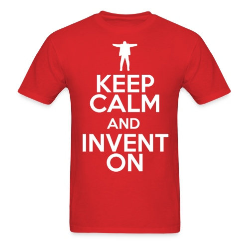 Keep Calm (Mens) - Men's T-Shirt
