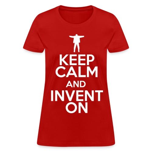 Keep Calm (Womens) - Women's T-Shirt