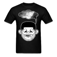 T-Shirts ~ Men's T-Shirt ~ The SpaceHead Tee in FEAR