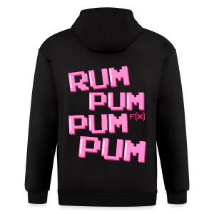 [f(x)] Rum Pum Pum Pum - Men's Zip Hoodie