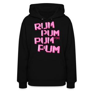 [f(x)] Rum Pum Pum Pum - Women's Hoodie