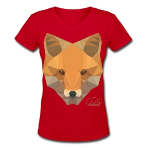 Sly Fox Women's V-Neck T-Shirt - Women's V-Neck T-Shirt