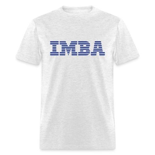 IMBA - Men's White T - Men's T-Shirt
