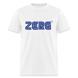 ZERG - Men's White T - Men's T-Shirt