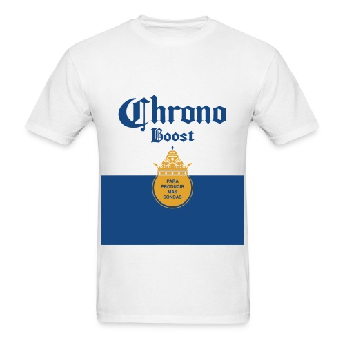 Chrono Boost - Men's White T - Men's T-Shirt