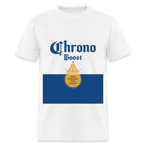 Chrono Boost - Men's White T - Men's T-Shirt