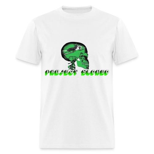 PROJECT SLDHED RETRO CAT - Men's T-Shirt