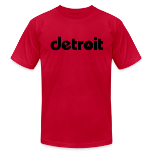 Detroit stars - Men's T-Shirt by American Apparel