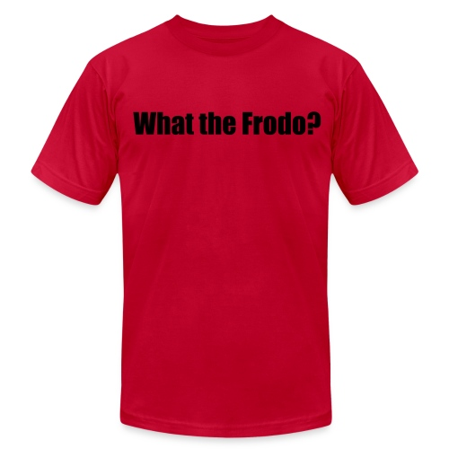 What the Frodo Shirt - Double Sided - Men's  Jersey T-Shirt