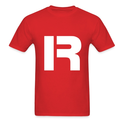 Men's T-shirt IR (red)  - Men's T-Shirt