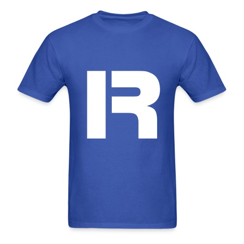 Men's T-shirt IR (blue)  - Men's T-Shirt