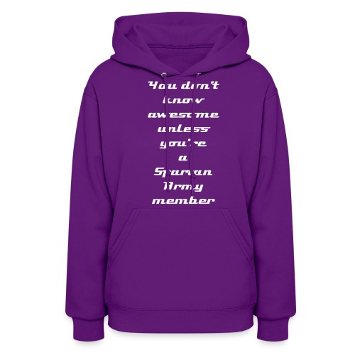 Be Awesome - Women's Hoodie