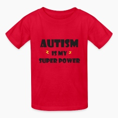 Autism is my super power Kids' Shirts