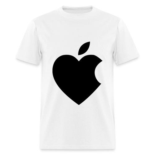 Men's Apple Heart T-Shirt - Men's T-Shirt