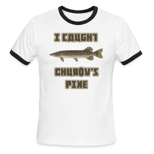 I Caught Churov's Pike Men's Ringer T-Shirt - Men's Ringer T-Shirt
