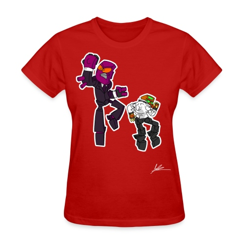 The Misadventures of Onipex and Pals: Tuxedo shirt - Women's T-Shirt