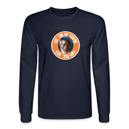 Eat Em Up Tigers Long Sleeve Shirt - Men's Long Sleeve T-Shirt