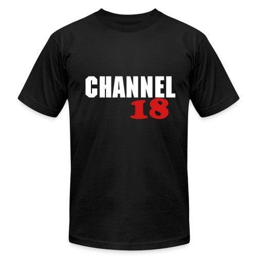 Men's Channel 18 T-Shirt #1 - Men's Fine Jersey T-Shirt
