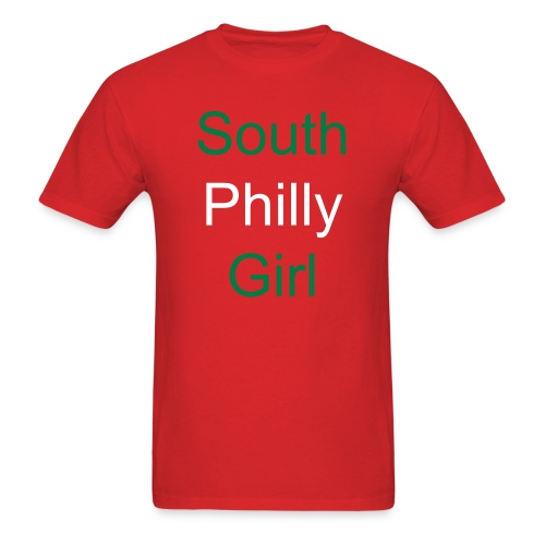 South Philly Girl Italian Shirt - Men's T-Shirt