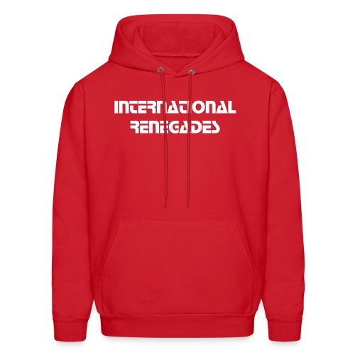 Men's Sweatshirt IR (red) - Men's Hoodie