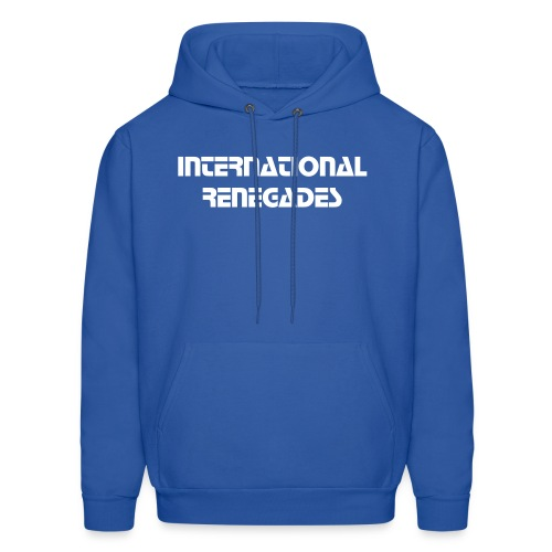 Men's Sweatshirt IR (blue)  - Men's Hoodie