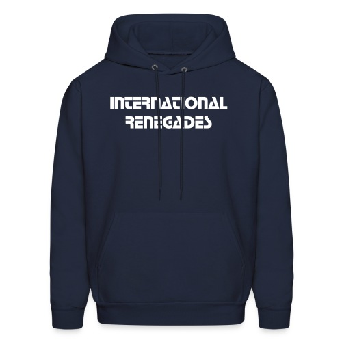 Men's Sweatshirt IR (navy)  - Men's Hoodie