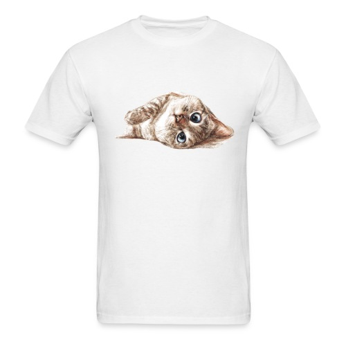 Nala_cat illustrator men t-shirt - Men's T-Shirt