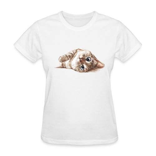 Nala_cat illustrator women t-shirt - Women's T-Shirt