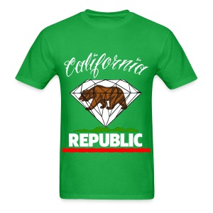cali repub - Men's T-Shirt