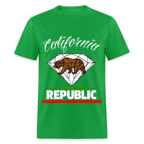 cali repub - Men's T-Shirt