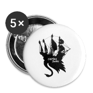 Buttons ~ Large Buttons ~ Jolly Swan Roger