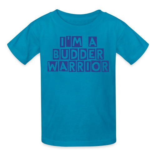Is your kid a BUDDER WARRIOR? - Kids' T-Shirt