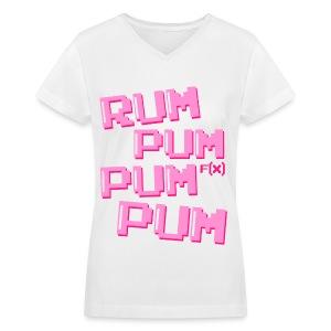 [fx] Rum Pum - Women's V-Neck T-Shirt