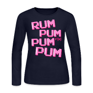 Long Sleeve Shirts ~ Women's Long Sleeve Jersey T-Shirt ~ [fx] Rum Pum
