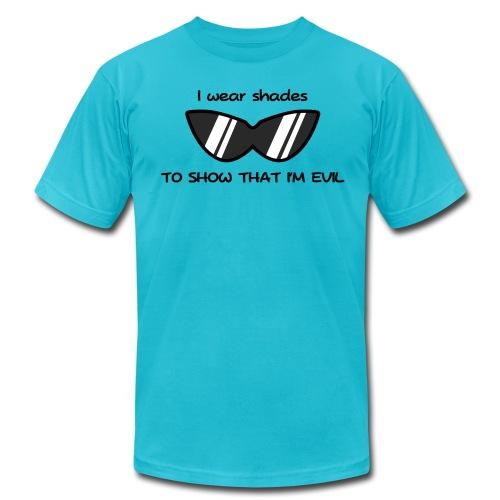 Shades of Evil - Men's Fine Jersey T-Shirt