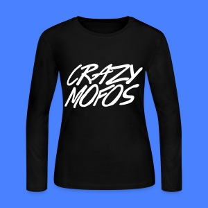 Crazy Mofos Long Sleeve Shirts - Women's Long Sleeve Jersey T-Shirt