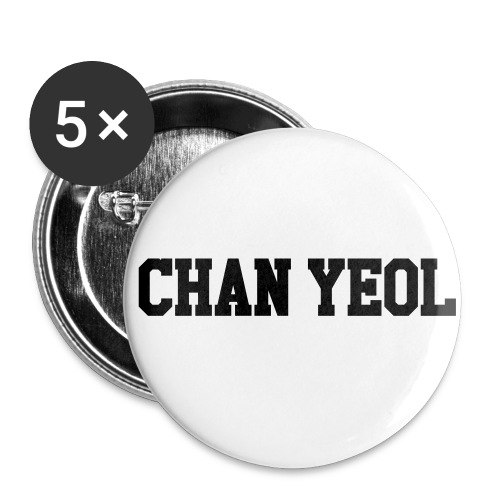 Chan Yeol  - Large Buttons