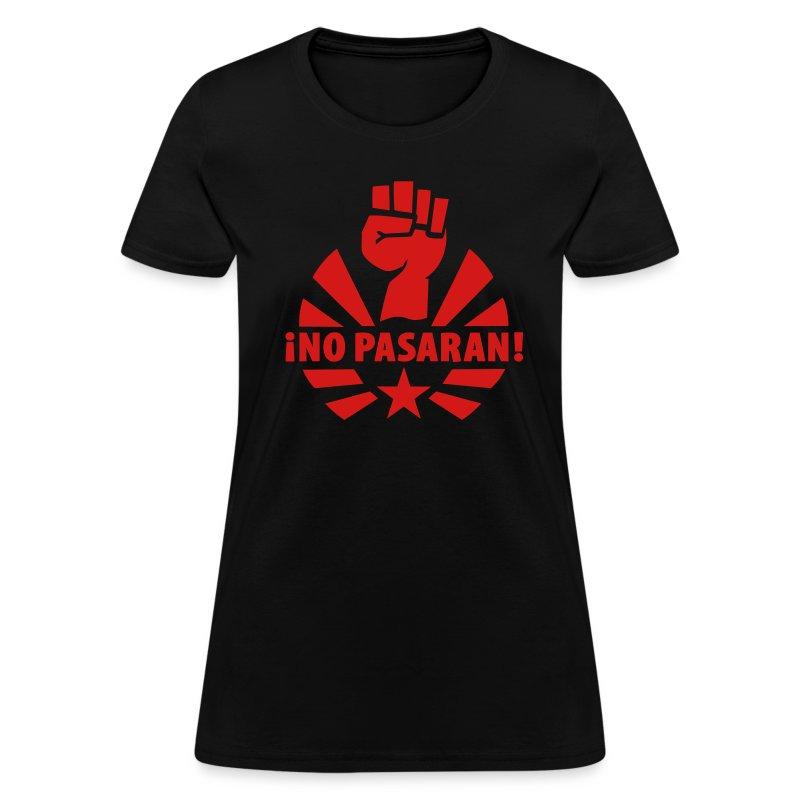 No Pasaran Fist Women's T-Shirt - Women's T-Shirt