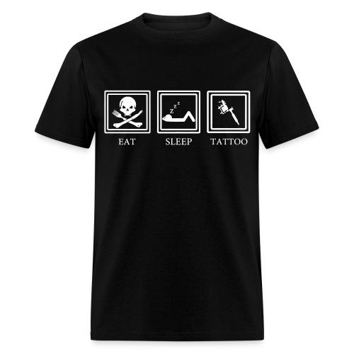 Life of tats - Men's T-Shirt