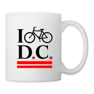 Mugs & Drinkware ~ Coffee/Tea Mug ~ I Bike DC mug