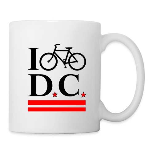 I Bike DC mug - Coffee/Tea Mug