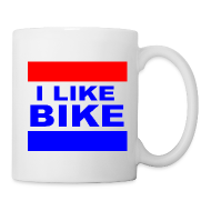 Mugs & Drinkware ~ Coffee/Tea Mug ~ I Like Bike Mug