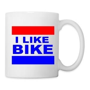 I Like Bike Mug - Coffee/Tea Mug
