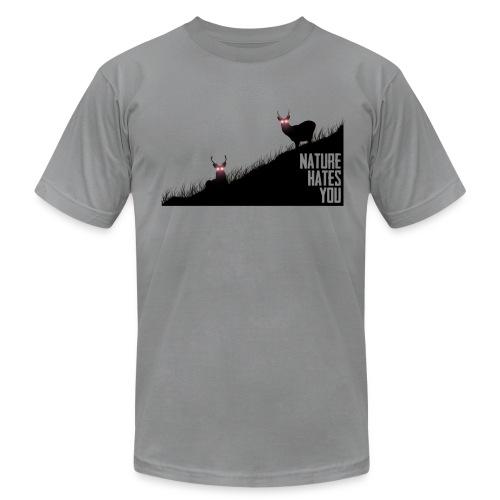 Alien Deer - Men's Fine Jersey T-Shirt