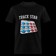 T-Shirts ~ Men's T-Shirt ~ Power Pad Track Star (Mens)